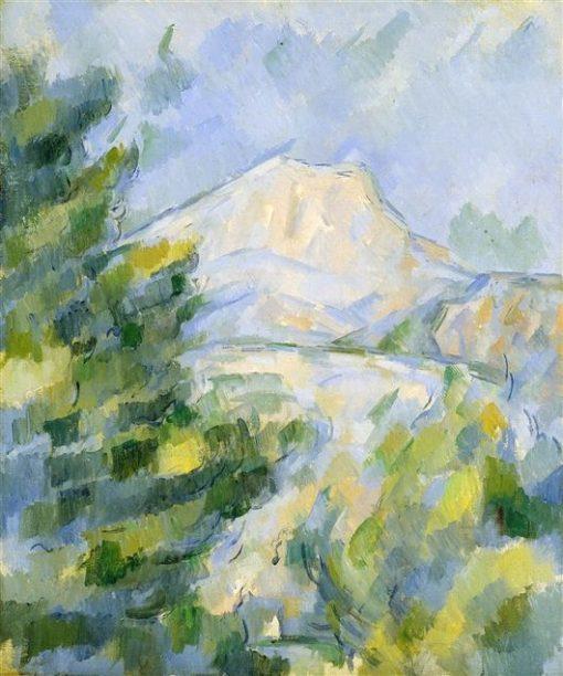 Mont Sainte-Victoire | Paul CEzanne | Oil Painting