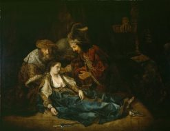 The Death of Lucretia | Rembrandt van Rijn | Oil Painting