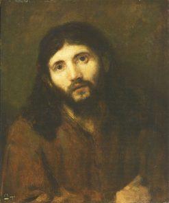 Head of Christ | Rembrandt van Rijn | Oil Painting