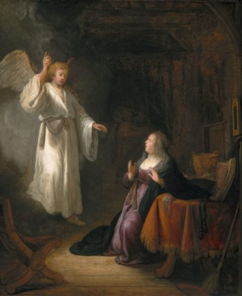 The Annunciation | Rembrandt van Rijn | Oil Painting