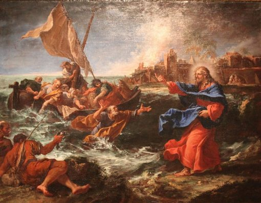 The Miraculous Draught of Fishes   Sebastiano Ricci   Oil Painting