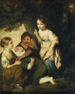 Crying Forfeits | Sir Joshua Reynolds | Oil Painting