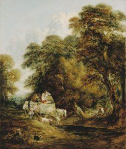The Market Cart | Thomas Gainsborough | Oil Painting