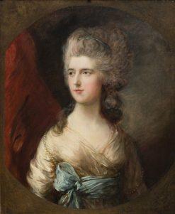 Lady Anna Horatia Waldegrave | Thomas Gainsborough | Oil Painting