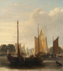 Sailing Barges | John Crome | Oil Painting