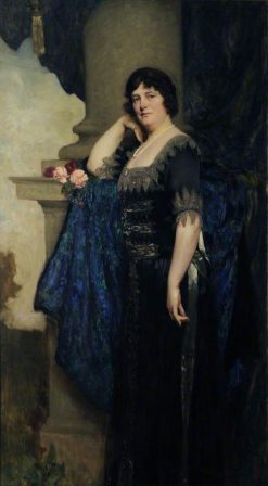 Lady Stevenson | Solomon Joseph Solomon | Oil Painting