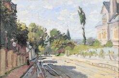 Village Street   Claude Monet   Oil Painting