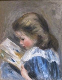 The Picture Book | Pierre Auguste Renoir | Oil Painting