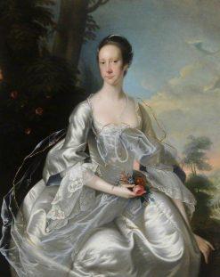 Elizabeth Pigot (1726-1766) | Joseph Wright of Derby | Oil Painting