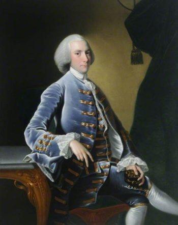 William Pigot (1729-1782)   Joseph Wright of Derby   Oil Painting