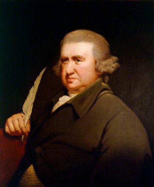 Dr Erasmus Darwin (1731-1802) | Joseph Wright of Derby | Oil Painting