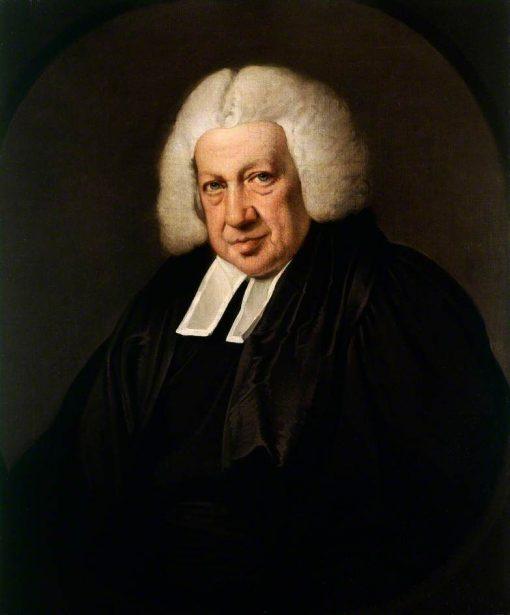 Reverend Thomas Seward MA   Joseph Wright of Derby   Oil Painting