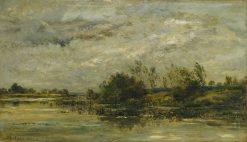 Un Coup de Vent | Charles Francois Daubigny | Oil Painting