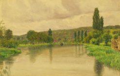 The Thames at Mapledurham   George Price Boyce