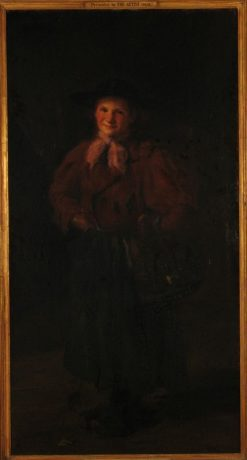 Jeanne   Jacques Emile Blanche   Oil Painting