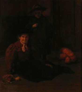 Mischief   Jacques Emile Blanche   Oil Painting
