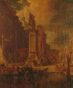 Venetain Scene | James Holland | Oil Painting