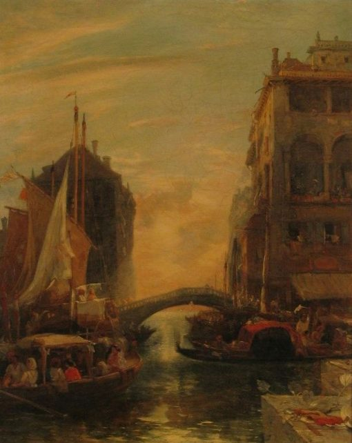 A Canal Scene