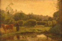 Summer Morning   Jean Baptiste Camille Corot   Oil Painting