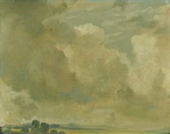 Study of Clouds   John Constable   Oil Painting