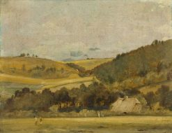 A View Near Arundel | John Constable | Oil Painting