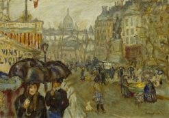 Boulevard de Clichy | Pierre Bonnard | Oil Painting