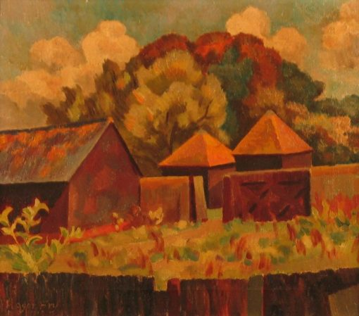 Farmyard in Sussex | Roger Eliot Fry | Oil Painting