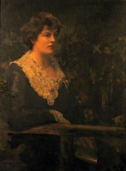 Dora Sigerson Shorter (Posthumous Portrait)   Sir John Lavery