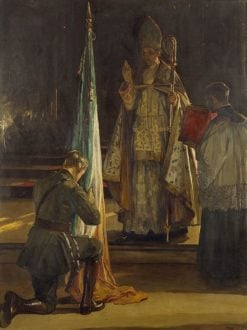 The Blessing of the Colours | Sir John Lavery