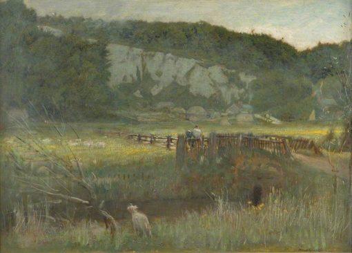 Landscape | Albert Goodwin | Oil Painting