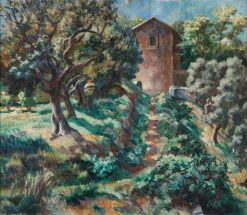 Olives in Spring | Roger Eliot Fry | Oil Painting