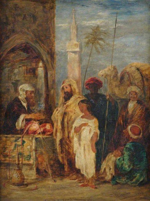 Middle Eastern Scene | William James Muller | Oil Painting