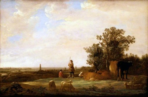View on a Plain | Aelbert Cuyp | Oil Painting