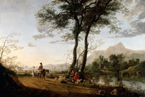 A Road near a River | Aelbert Cuyp | Oil Painting