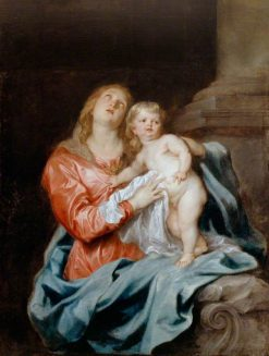 The Madonna and Child | Anthony van Dyck | Oil Painting