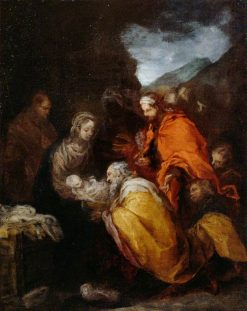 The Adoration of the Magi | BartolomE Esteban Murillo | Oil Painting