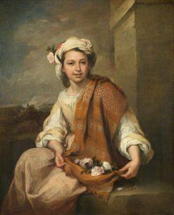 The Flower Girl | BartolomE Esteban Murillo | Oil Painting