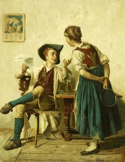 The Chaff-Cutter | David Teniers II | Oil Painting