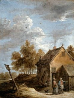 A Cottage | David Teniers II | Oil Painting