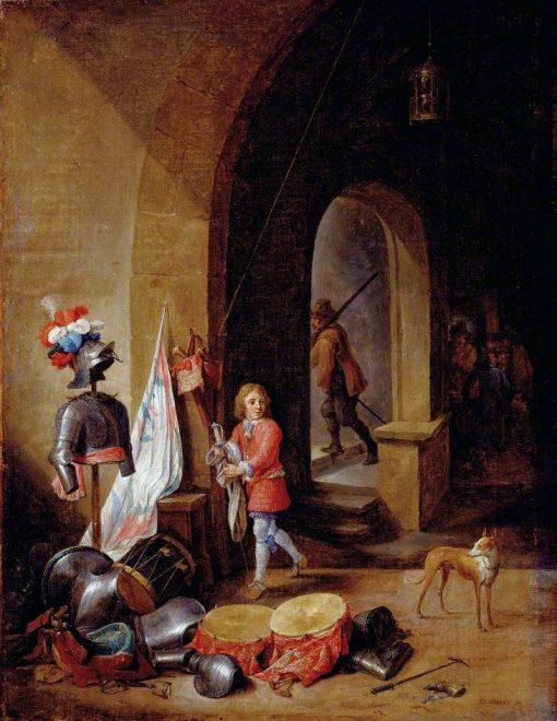 A Guard Room | David Teniers II | Oil Painting