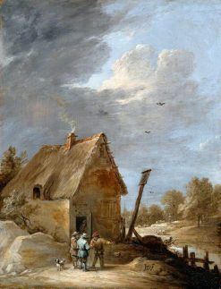 A Road near a Cottage | David Teniers II | Oil Painting