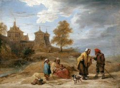 Gypsies in a Landscape | David Teniers II | Oil Painting