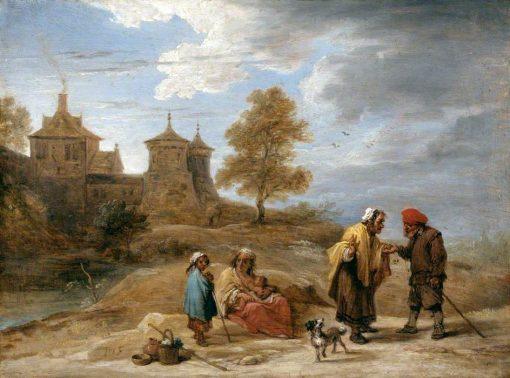 Gypsies in a Landscape | David Teniers II | Oil Painting