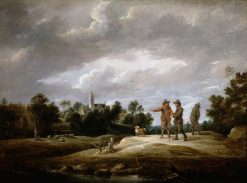 Peasants Conversing | David Teniers II | Oil Painting