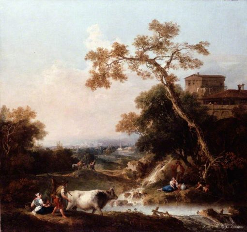 Landscape | Francesco Zuccarelli | Oil Painting