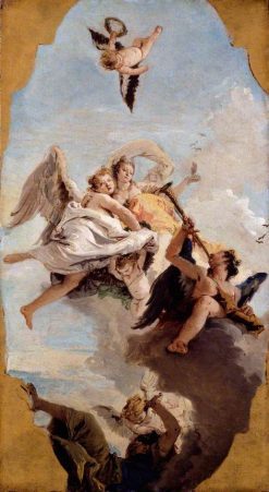 Virtue and Nobility Putting Ignorance to Flight   Giovanni Battista Tiepolo   Oil Painting