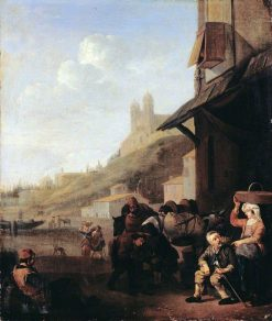 Roman Blacksmith's Shop | Johannes Lingelbach | Oil Painting