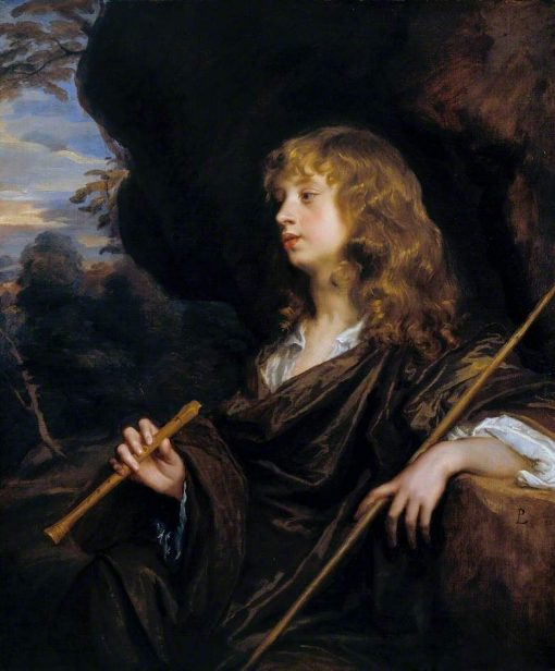 A Boy as a Shepherd | Peter Lely | Oil Painting