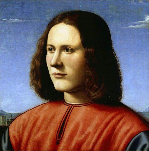 A Young Man   Piero di Cosimo   Oil Painting