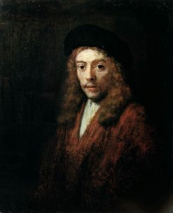 Titus in Large Cap | Rembrandt van Rijn | Oil Painting